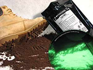TOTAL IR, 1 lb. Bag (500 grams), color BROWN, IR Light Emitting Tagging Powder