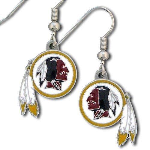 NFL Washington Redskins Dangle Earrings