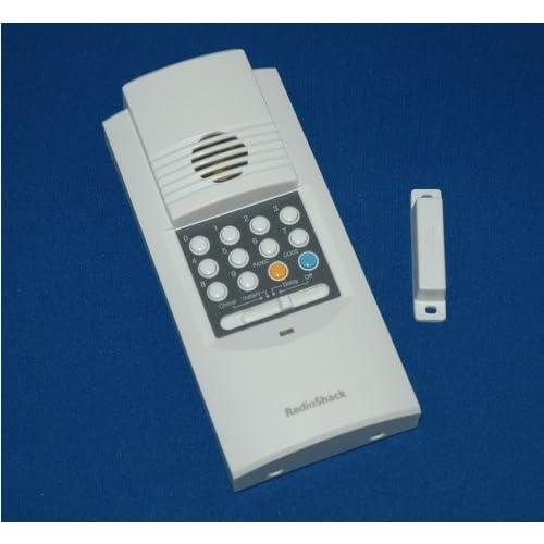 Radio Shack Wireless Keypad Door Chime Bell And Alarm