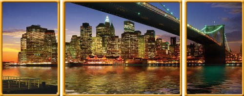 Cheap Ravensburger New York City Deluxe Panoramic Triptych Jigsaw Puzzle 1000 Piece (B004DL167I)