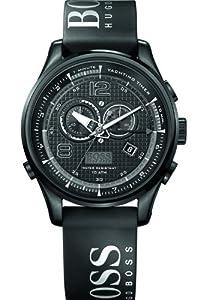 Hugo Boss 1512832 Chronograph Black Logo Rubber Men's Watch