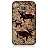 Head Case Deer Cave Painting Design Back Case For Samsung Galaxy Xcover S5690