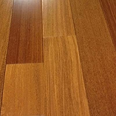 "Brazilian Teak Clear Prefinished Solid Wood Flooring 5"" x 3/4"" Samples at Discount Prices by Hurst Hardwoods"