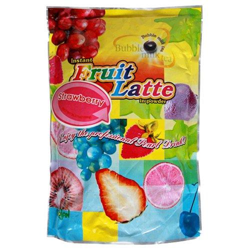 Buy Trojan Instant Fruit Latte Bubble Tea Milk Powder, Strawberry Flavor, 2.2-Pound Bags (Pack of 2) (Trojan Tea, Health & Personal Care, Products, Food & Snacks, Beverages, Tea)