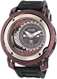 Ritmo Mundo Men's 202/2 Brown Persepolis Dual-Time Exhibition Automatic Watch