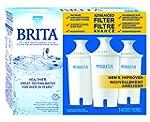 Brita 3 Count Water Filter Pitcher Ad...