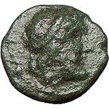 Halicarnassus 100BC Genuine Authentic Ancient Greek Coin w Poseidon & Trident