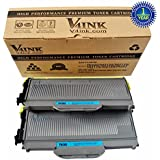 V4INK® 2pack New Compatible with  Brother TN360 TN330 Black Toner Cartridge for Brother HL-2140, HL-2170W, DCP-7030, DCP-7040,MFC-7340, MFC-7345N, MFC-7440N, MFC-7840W Printers