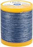 COATS & CLARK Dual Duty Plus Denim Thread, 125-Yard, Denim Blue