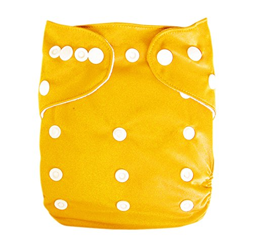 Besto Baby Reusable Washable Aio Cloth Diapers Fit 6-33Lbs With 1 Free Microfiber Insert 1B01 back-785777