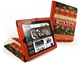 """Tuff-Luv Marrakesh Multi-View """"Stasis"""" Series: Case Cover for Apple iPad 2 - Medina (Red)"""