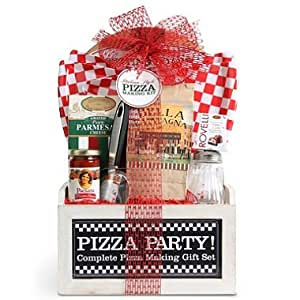 Wine Country Pizza Gift Basket