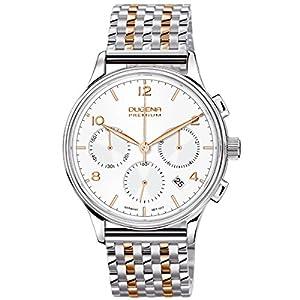 Dugena 7090242 - Reloj de pulsera hombre, acero inoxidable, color multicolor