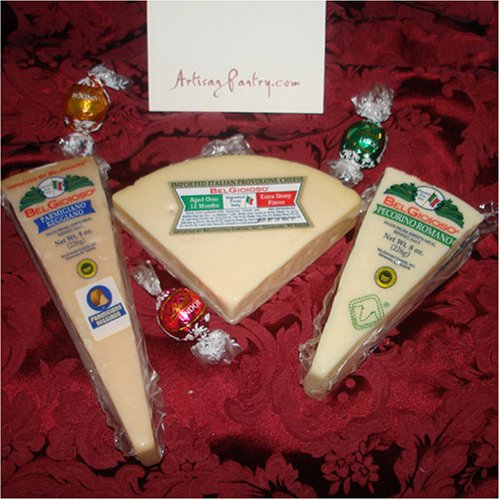 Italian Imported Cheese Sampler by ArtisanPantry 1.75 pounds