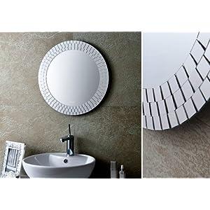 Miroir salle de bain 60 cm miroir mural miroir cristal miroir YJ-578E 51aaa88zaML._SL500_AA300_