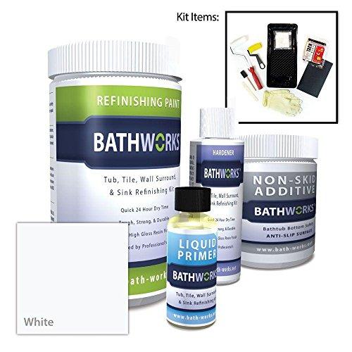 bathworks-22-oz-diy-bathtub-refinish-kit-with-slipguard-white