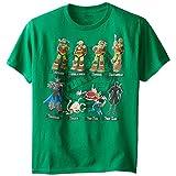 Teenage Mutant Ninja Turtles Big Boys' Turtles Tee Shirt, Kelly Green, Small / 8
