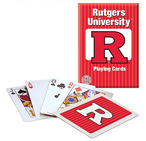 Rutgers Playing Cards - 1