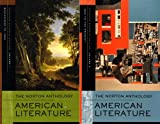 The Norton Anthology of American Literature (Shorter Seventh Edition)  (Vol. 1 & 2)
