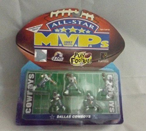 DALLAS COWBOYS - ALL STAR MVPS - 1997 - POSEABLE-ACTION FIGURES FOOTBALL - 5 - PIECE by NFL