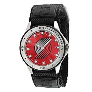 Portland Trail Blazers Mens Adjustable Sports Watch by Game Time