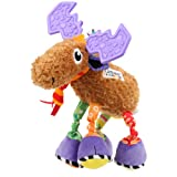 Toy - Lamaze Play And Grow Mortimer The Moose Baby Infant Soft Toy Cots Pushchair Pram