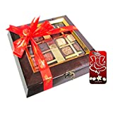 Chocholik Belgium Chocolate Gifts - Assortment Of Exotic Chocolates With 3d Mobile Cover For IPhone 6 - Diwali...