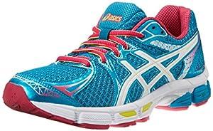 ASICS Women's Gel-Exalt 2 Running Shoe,Emerald/White/Hot Pink,8 M US