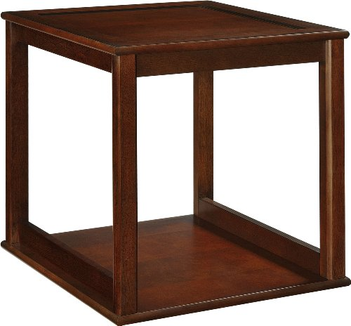 Altra Furniture Stacking Cube, Cherry