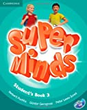 Super Minds Level 3 Students Book with DVD-ROM