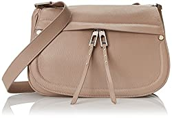 Ivanka Trump Charlotte Messenger Shoulder Bag, Grey, One Size