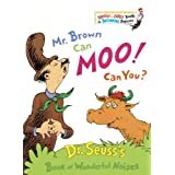 Mr. Brown Can Moo! Can You? Book of Wonderful Noises (Bright & Early Books) ~ Dr. Seuss