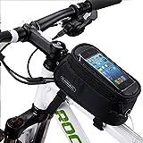 ArcEnCiel JAPAN自転車フレームバッグ 5.5インチトップチューブバッグ自転車フロントバッグ iPhone6/6S対応