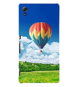 Hot Air Balloon 3D Hard Polycarbonate Designer Back Case Cover for Sony Xperia Z4