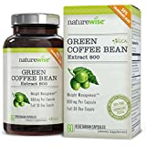NatureWise Green Coffee Bean Extract 800 with GCA Natural Weight Loss Supplement, 60 Count (Pack of 2)