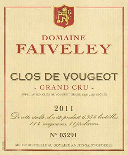 2011 Joseph Faiveley - Clos De Vougeot Grand Cru Burgundy 750 Ml