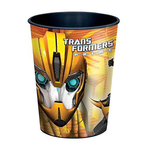 Package of 12 Transformers Plastic Cups 16oz