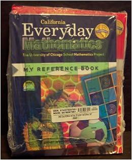 everyday mathematics 1st grade student reference book student math