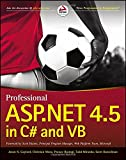 img - for Professional ASP.NET 4.5 in C# and VB book / textbook / text book
