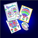 Sentosphere Artistics Magic Watercolor Canvases - Balloons