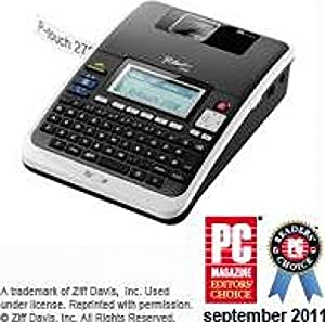 Brother PT-2730VP Professional Label Printer PC-Connectable for PC and Mac. Value Pack