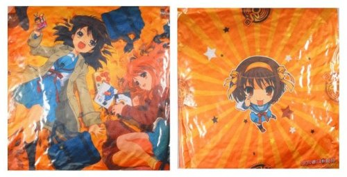 Melancholy of Haruhi Double Sided Pillow