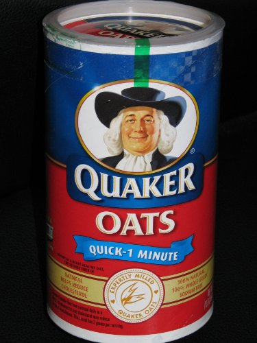 Quaker Oats Quick -1 Minute (18 Oz.) (030000011805)