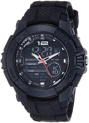 Sonata Ocean Series III Chronograph Multi-Color Dial Unisex Watch – 77027PP01J
