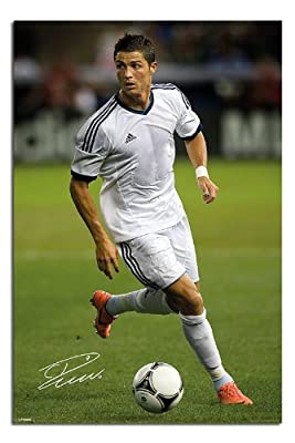 Cristiano Ronaldo Real Madrid Poster - 91.5 x 61cms (36 x 24 Inches)