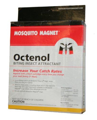 Mosquito Magnet OCTENOL3 Octenol Biting Insect Attractant, 3-Pack