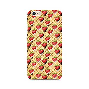 Mobicture Strawberry Wafer Premium Printed Case For Apple iPhone 6/6s