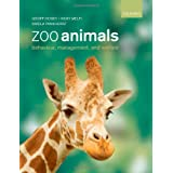Zoo Animals: Behaviour, Management and Welfareby Geoff Hosey