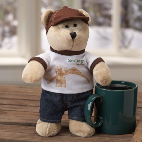 Starbucks Bearista Bear - Destination Series 2010 - San Diego