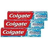 Colgate - MaxFresh Menthe Givrée Dentifrice - 75 ml - Lot de 3